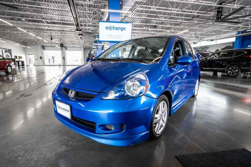 Weu0027d Like You To Tell You A Story About Schomp Honda Customer, Kevin Allen.  Kevin Recently Traded In His 2007 Honda FIT That Heu0027s Been Driving As A  Courier ...
