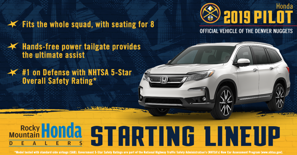 Honda Dealership Denver >> Here S How You Win With The Denver Nuggets Rocky Mountain
