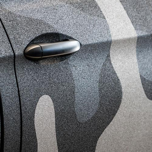 Honda Ridgeline Kevlar Camo Paint