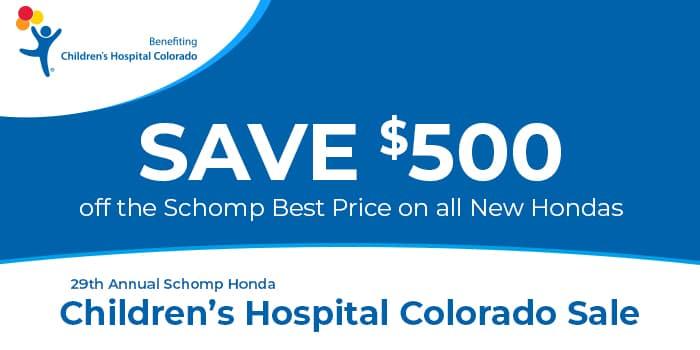 $500 Savings On New Hondas