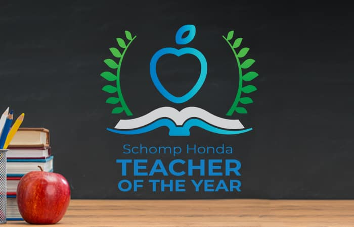 Schomp Honda Teacher of the Year