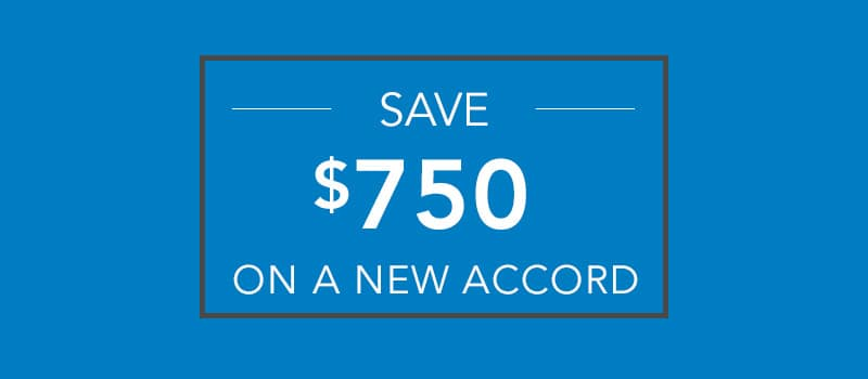 $750 Accord Loyalty Offer