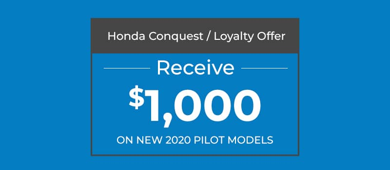 $1,000 Conquest Offer