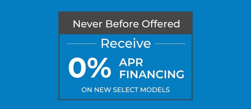 Finance Select New Honda Models for 0% APR