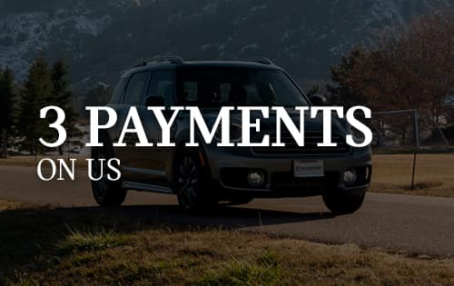 3 PAYMENTS ON US
