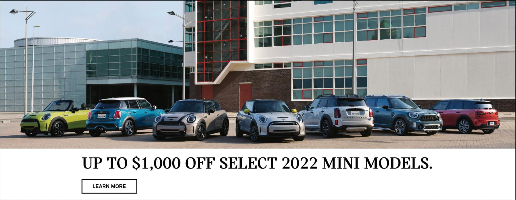 Get up to $1,000 off select 2022 models.