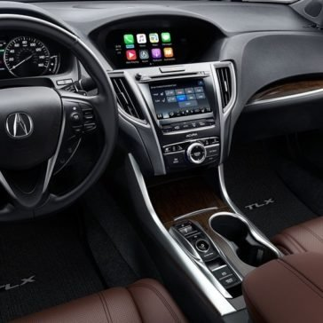 2018 Acura TLX Interior