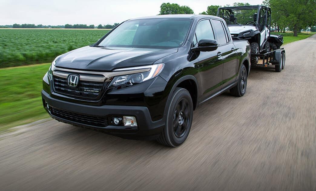 2018 Honda Ridgeline towing power