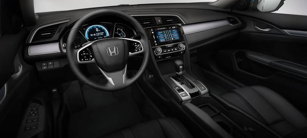 2017 Honda Civic Touring Interior 2