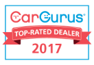 Car Gurus Top-Rated Dealer 2017