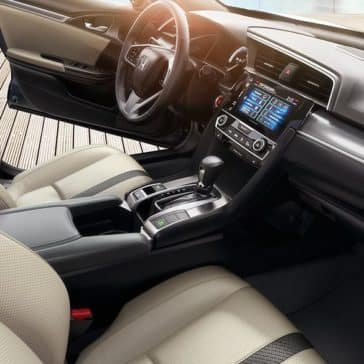 2018 Civic Sedan Interior