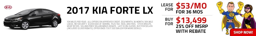 Shop 2017 Kia Forte in Harrisonburg, VA