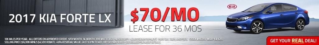 2017 Kia Forte - Lease