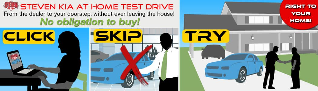 Steven KIA At Home Test Drive