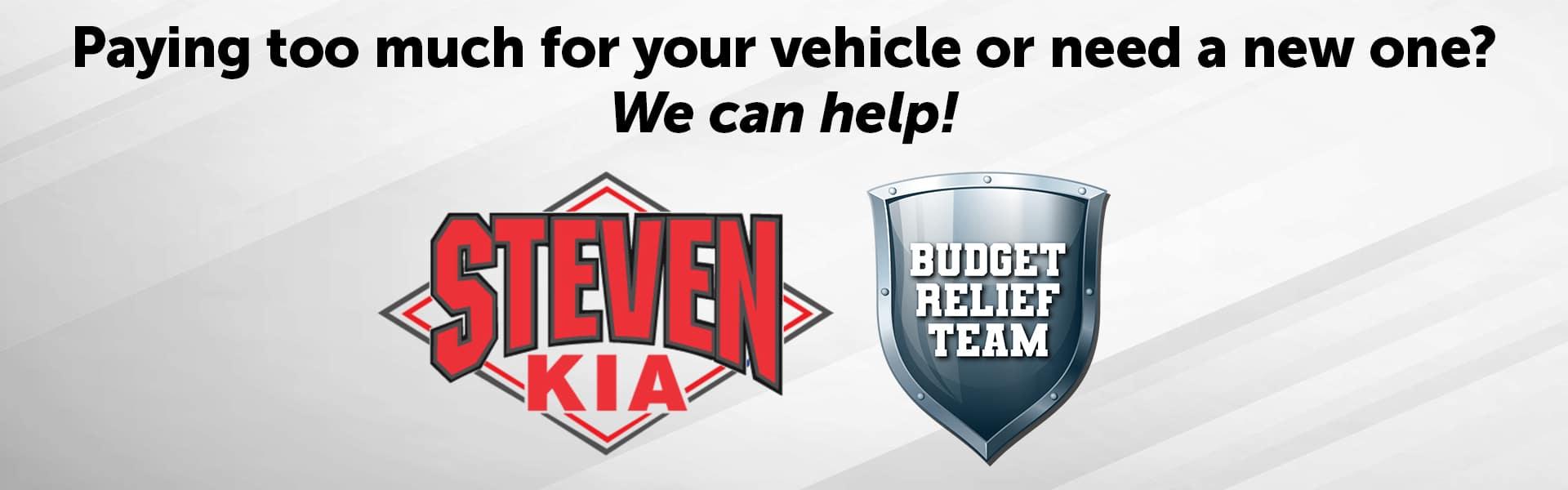 Steven KIA Budget Relief Team