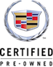 Certified Pre-owned Cadillac