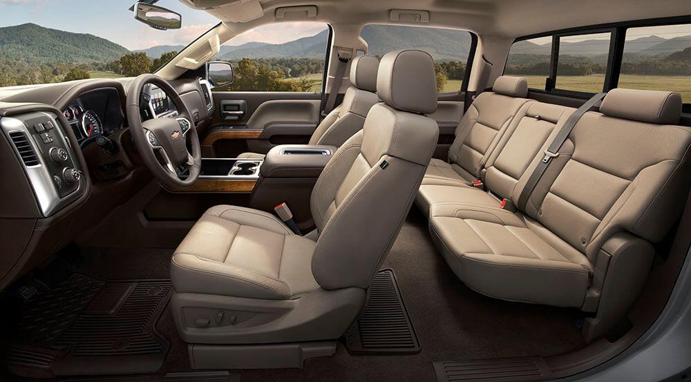 2017 Chevy Silverado1500 LTZ Interior Gallery3