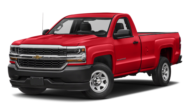 2017 Chevy Silverado Red
