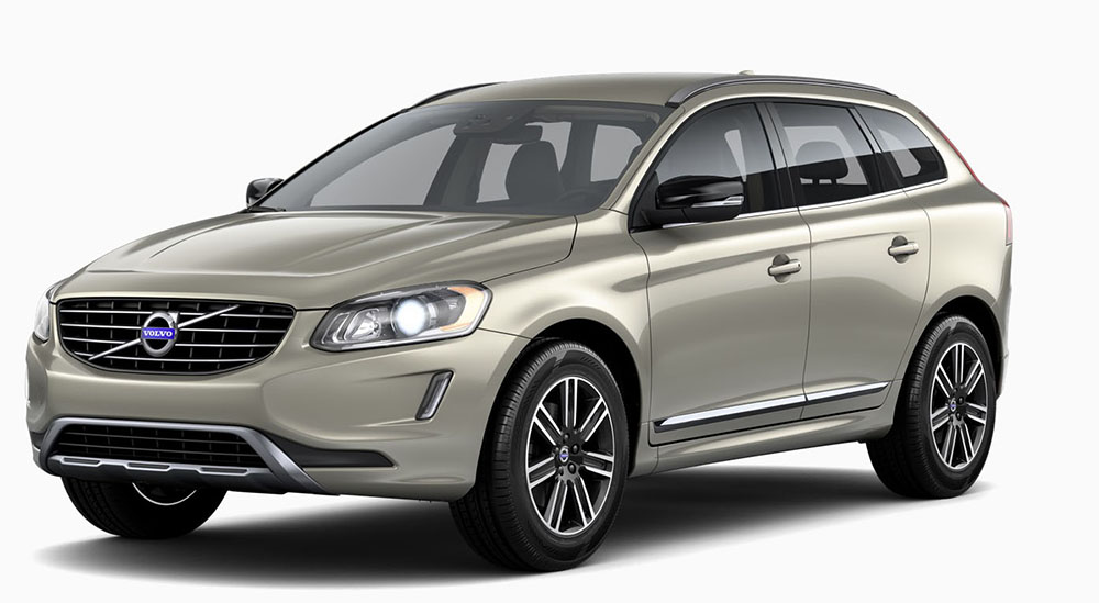 Volvo Xc60 on backup camera design