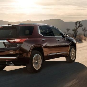 2018 Chevrolet Traverse Driving In Desert