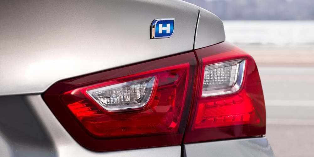 Chevrolet Malibu rear light detail (hybrid)