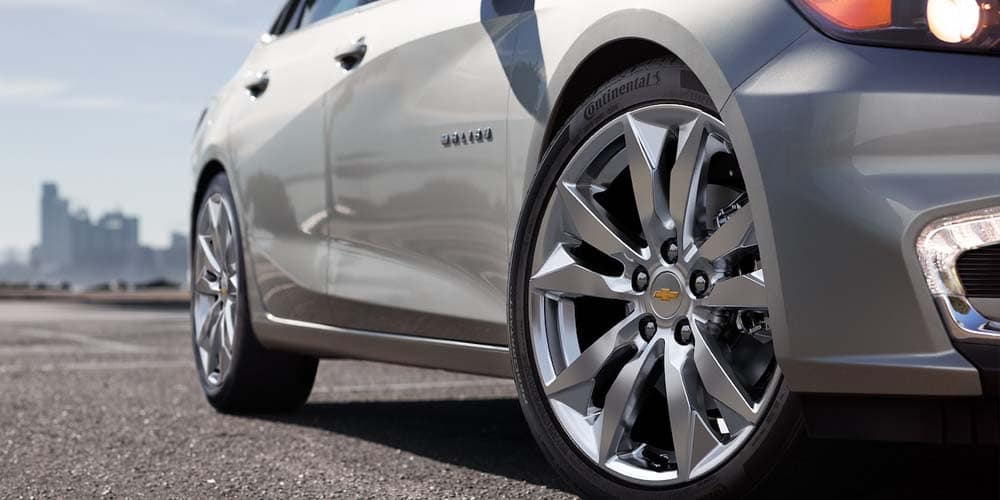 2018 Chevy Malibu Wheel detail