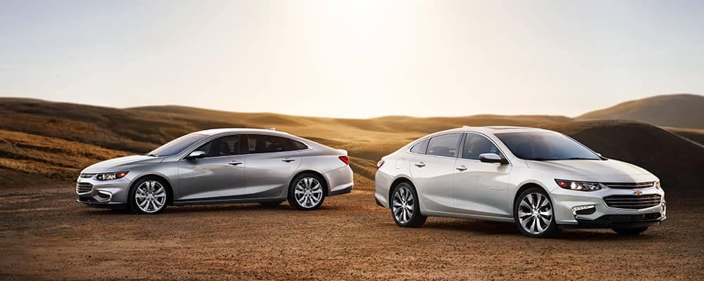 2018 Chevrolet Malibu LT and Premier