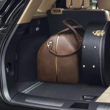 trunk of 2018 Cadillac XT5