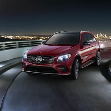 2018 MB GLC red