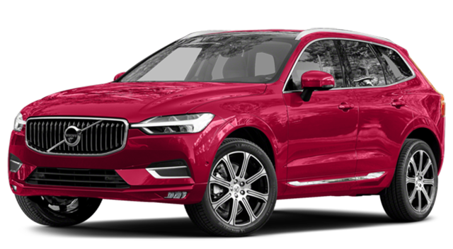 2018 Volvo XC60 Red