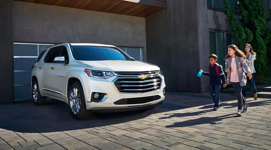 2019 Chevy Traverse Parked