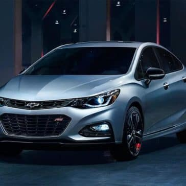 2019 Chevy Cruze Parked