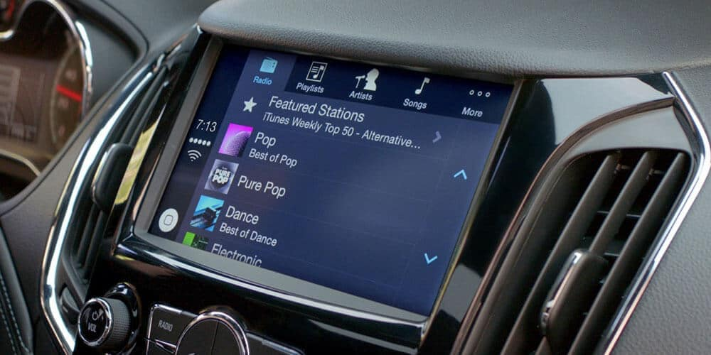 2019 Chevy Cruze Touchscreen