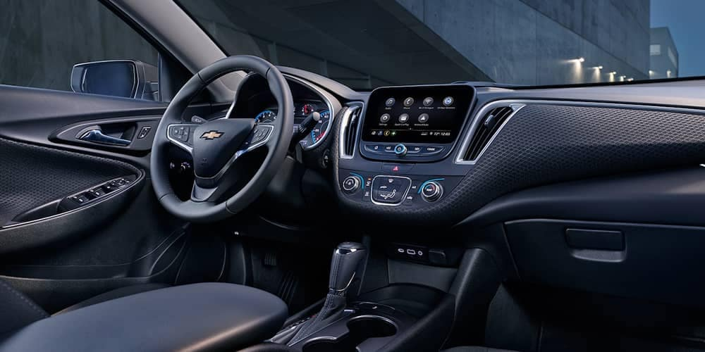 2019 Chevy Malibu Dash
