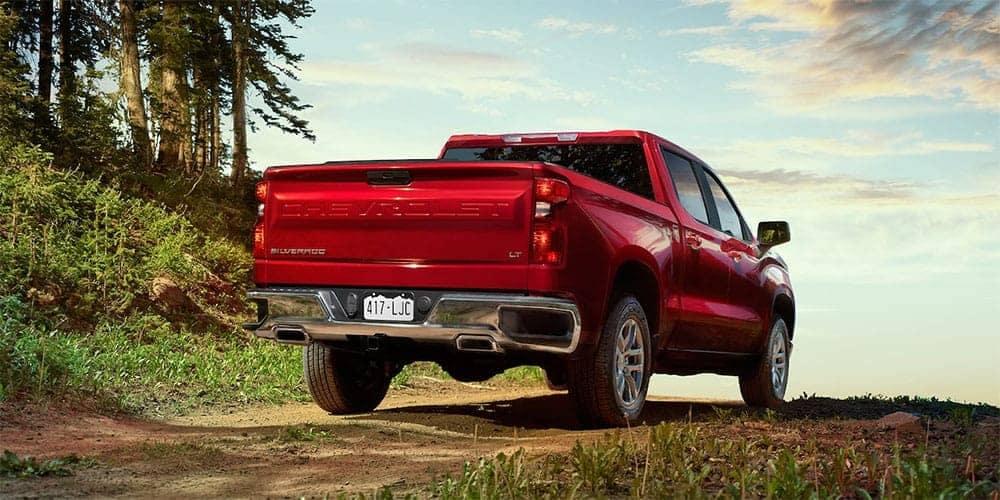 2019 Chevrolet Silverado rear exterior