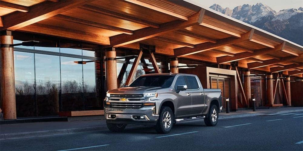 2019 Chevrolet Silverado parked