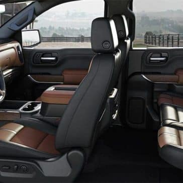 interior seating in 2019 Chevrolet Silverado