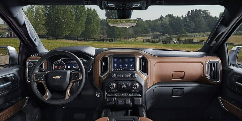 2019 Chevrolet Silverado dashboard