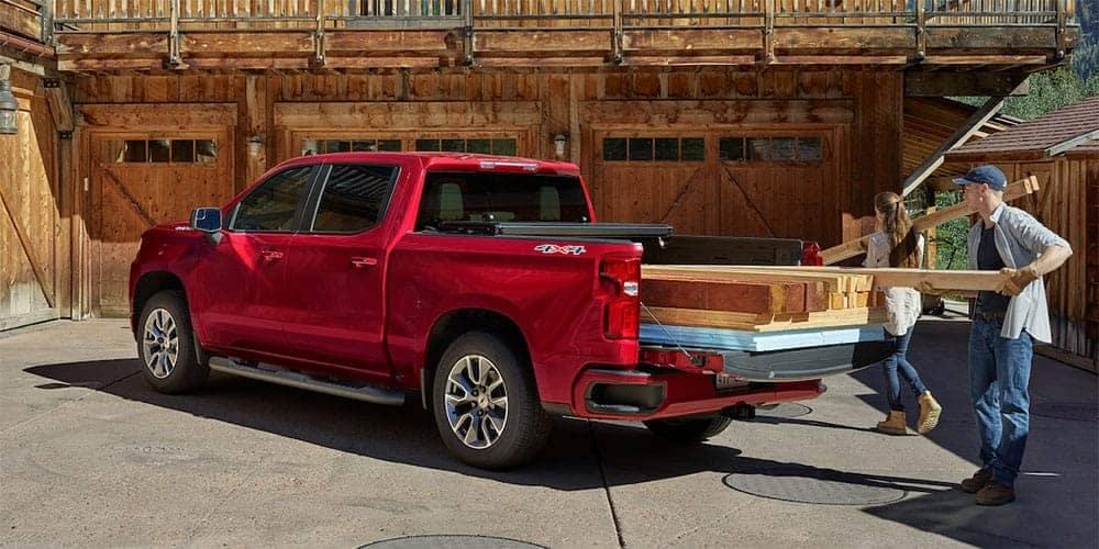 truck bed of 2019 Chevrolet Silverado