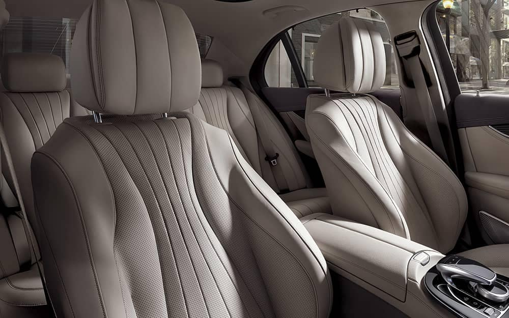 leather seating in 2019 Mercedes-Benz E-Class