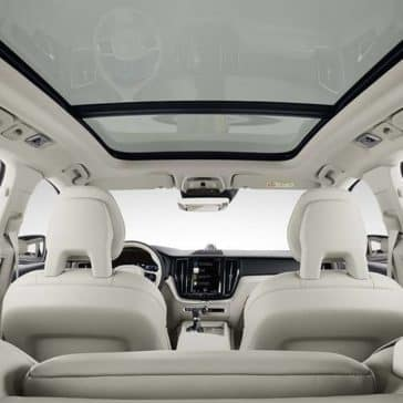 interior cabin of 2019 Volvo XC60