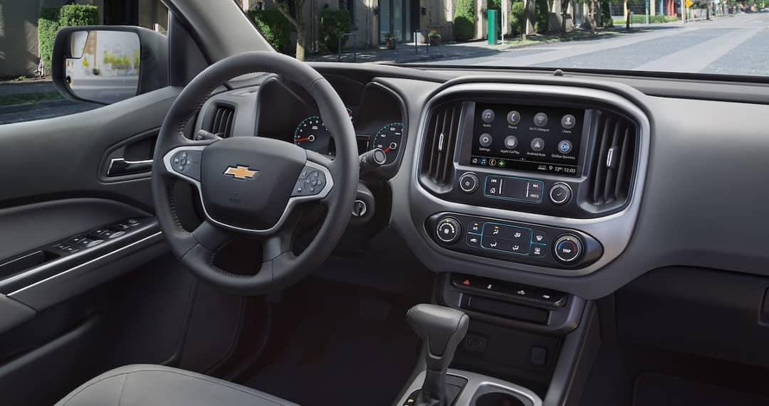 dashboard of 2019 Chevy Colorado