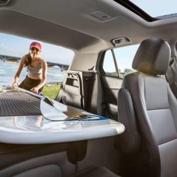 cargo space in 2019 Chevrolet Trax