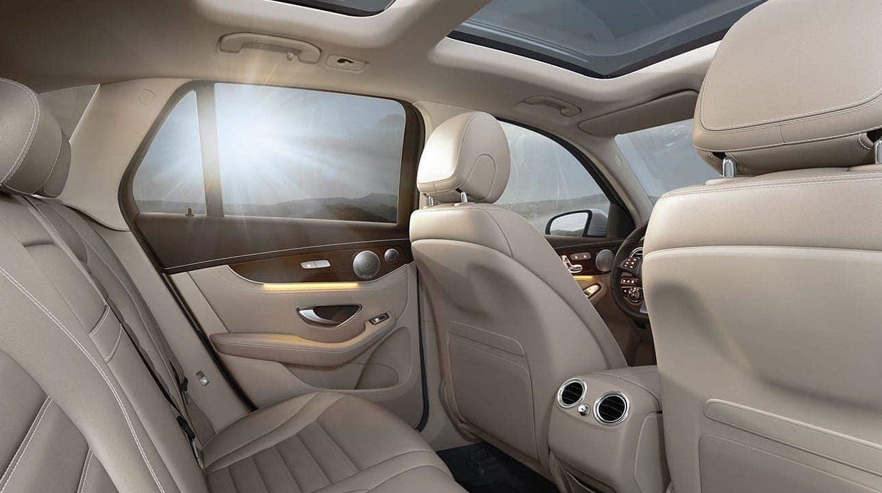 2019 GLC with Tan Leather Seats