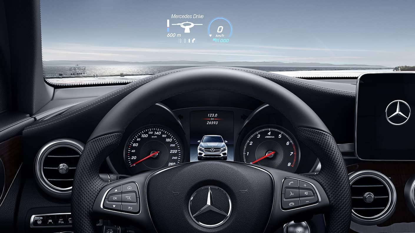 2019 MB GLC Steering Wheel