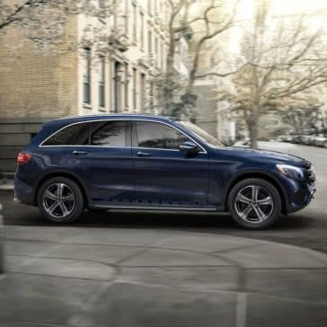 2019 MB GLC Turning