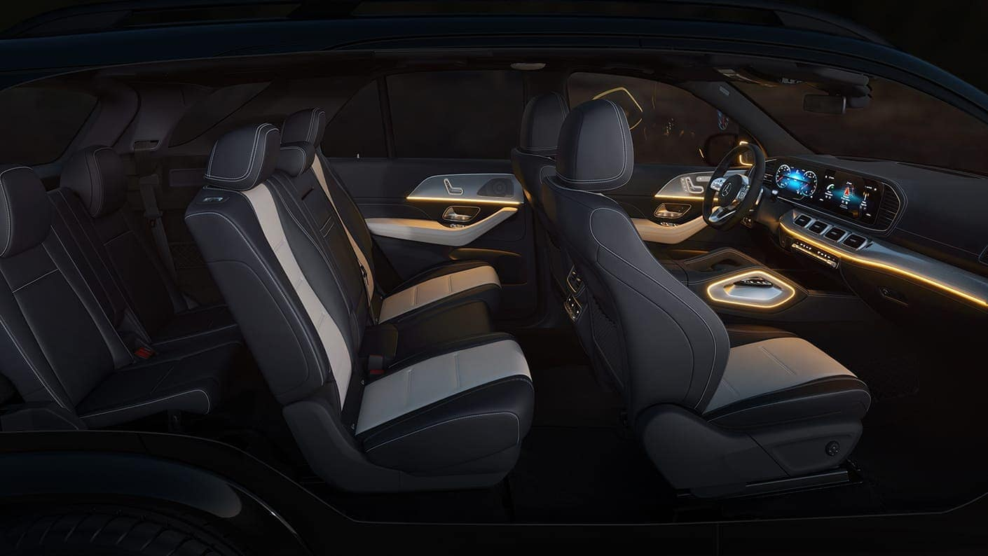 2020 Mercedes Benz GLE interior technology and cargo