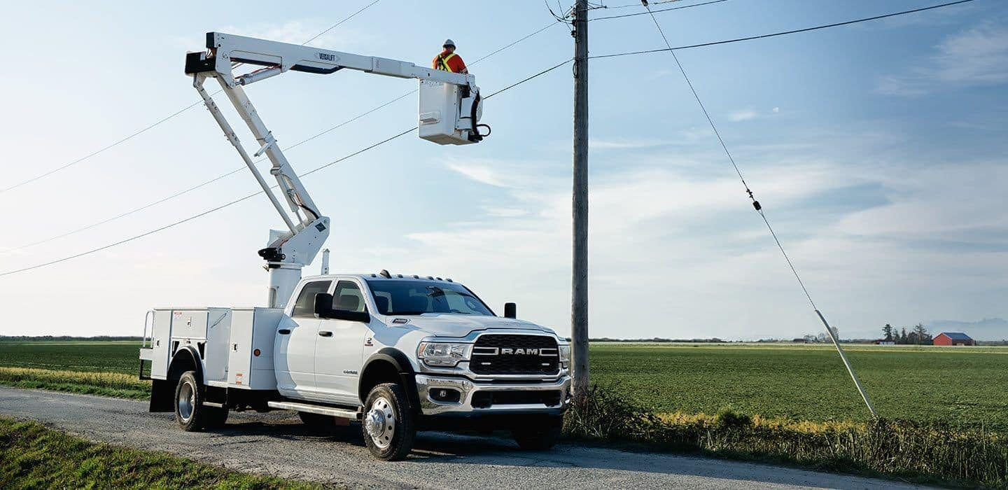 2019 RAM Chassis cab with bucket lift
