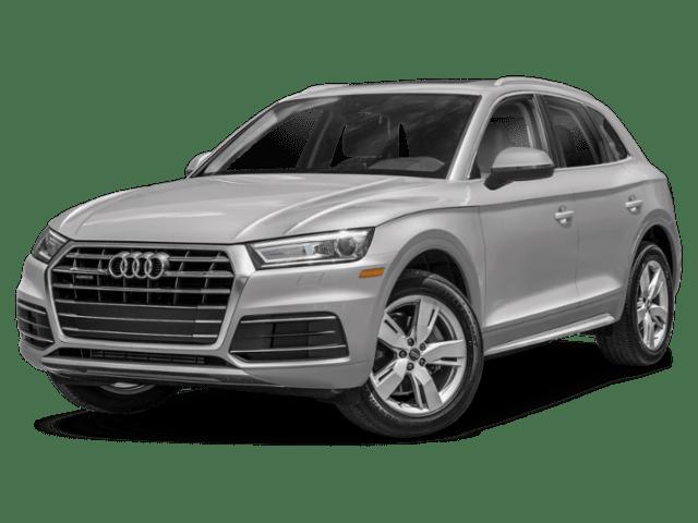 2019 Audi Q5 in silver