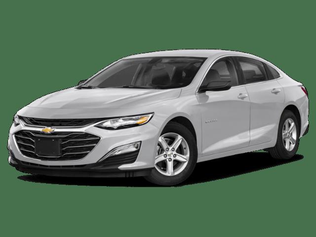 2020 Chevrolet Malibu in silver